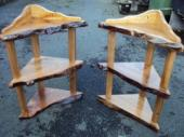 Elm corner tables