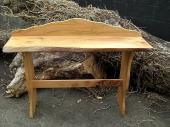 Wych Elm Hall Table